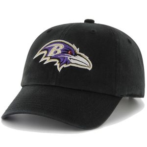 '47 Brand Baltimore Ravens Clean Up Adjustable Hat