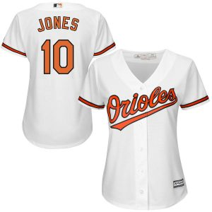 Adam Jones Baltimore Orioles Majestic Women's Cool Base Player Jersey