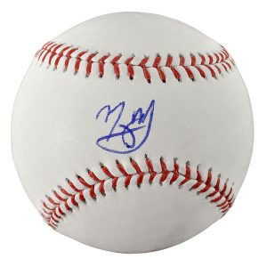 Autographed Baltimore Orioles Manny Machado Fanatics Authentic Baseball
