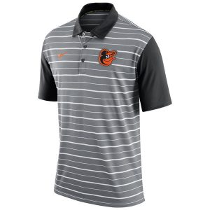 Baltimore Orioles Nike Dri-FIT Stripe Polo
