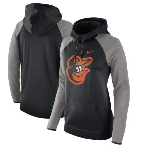 Baltimore Orioles Nike Women's Performance Pullover Hoodie