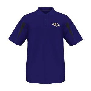 Baltimore Ravens Big Sizes Field Classic Polo