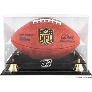 Baltimore Ravens Fanatics Authentic Brown Framed Wall-Mountable Football Display Case