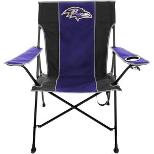 Baltimore Ravens Tailgate Quad Chair with Click & Carry Strap