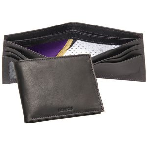 Baltimore Ravens Tokens & Icons Game-Used Uniform Leather Wallet
