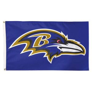 Baltimore Ravens WinCraft Deluxe 3′ x 5′ Flag