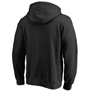 Black Victory Arch Pullover Hoodie