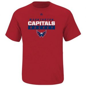 Boys Majestic Washington Capitals Hockey Tee