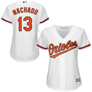 Manny Machado Baltimore Orioles Majestic Women's Cool Base Player Jersey
