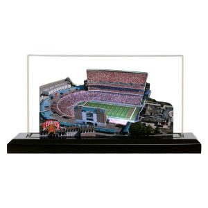Maryland Terrapins 19″ x 9″ Light Up Stadium with Display Case