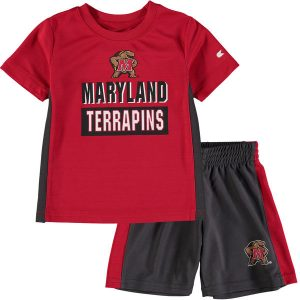 Maryland Terrapins Colosseum Toddler In The Vault T-Shirt and Short Set Short Set