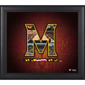 "Maryland Terrapins Framed 15"" x 17"" Team Heritage Collage"