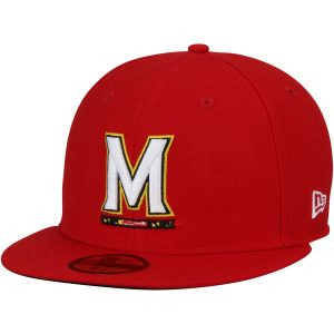 Maryland Terrapins New Era Basic 59FIFTY Fitted Hat