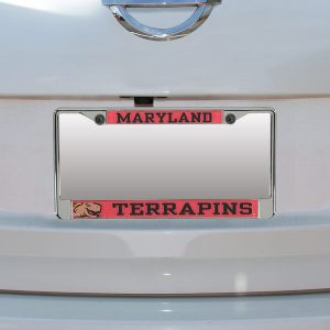 Maryland Terrapins Small Over Large Mega License Plate Frame