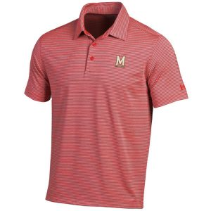 Maryland Terrapins Under Armour Kirkby Performance Polo