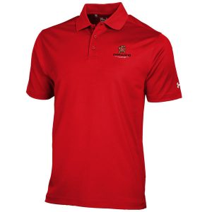 Maryland Terrapins Under Armour Solid Performance Polo