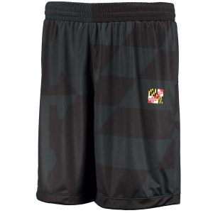 Maryland Terrapins Under Armour Youth Lacrosse Replica Performance Mesh Shorts