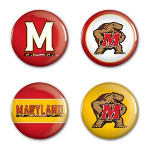 Maryland Terrapins WinCraft 4-Pack Button Set