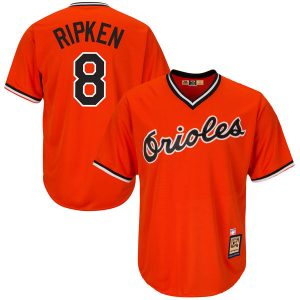 Men's Baltimore Orioles Cal Ripken Jr Alternate Cooperstown Collection Player Jersey