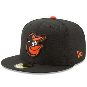 Men's Baltimore Orioles New Era Black Diamond Era 59FIFTY Fitted Hat
