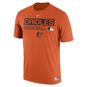 Men's Baltimore Orioles Nike Orange Authentic Collection Legend Team Issue Performance T-Shirt