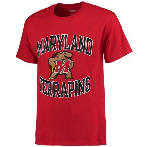 Men's Champion Red Maryland Terrapins Tradition T-Shirt