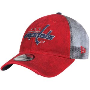 Men's Washington Capitals Rustic Trucker Adjustable Snapback
