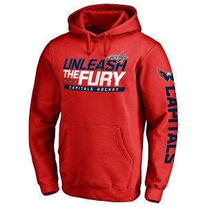 Men's Washington Capitals Red Hometown Collection Pullover Hoodie