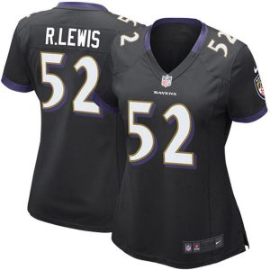 Ray Lewis Baltimore Ravens Nike Women's Game Jersey
