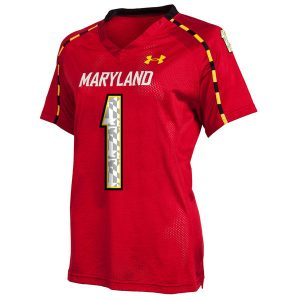 Under Armour Maryland Terrapins Women's #1 Master Replica Jersey