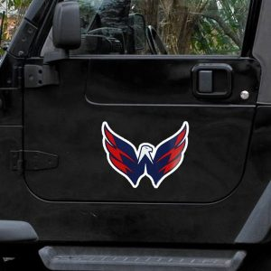 Washington Capitals 11.5″ x 12″ Team Logo Car Magnet