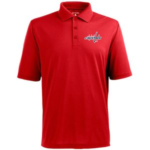 Washington Capitals Antigua Pique Xtra-Lite Polo