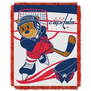 Washington Capitals Baby Jacquard Throw