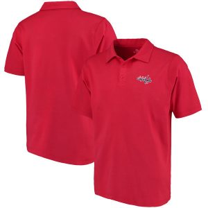Washington Capitals Fanatics Branded Primary Embroidered Polo