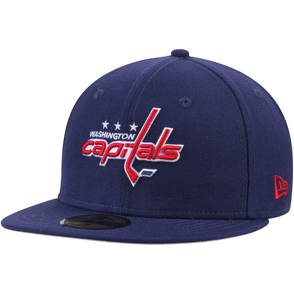 0c3c0150a15 Washington Capitals New Era Team Color 59FIFTY Fitted Hat ...