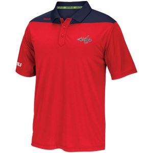 Washington Capitals Reebok Center Ice Statement Speedwick Polo