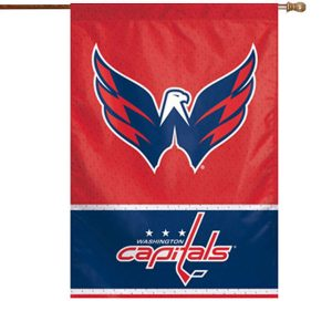Washington Capitals WinCraft 28″ x 40″ Two-Sided Vertical Flag