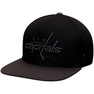 Washington Capitals Zephyr Z11 Blackout Adjustable Hat