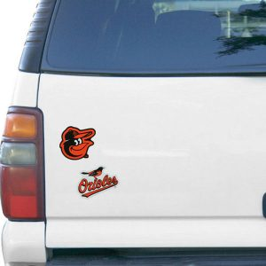 WinCraft Baltimore Orioles 5″ x 9″ 2-Pack Magnet