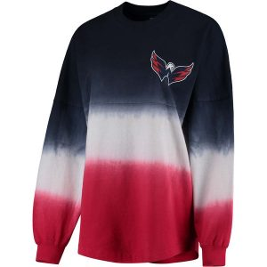 Women's Washington Capitals Long Sleeve Oversized T-Shirt