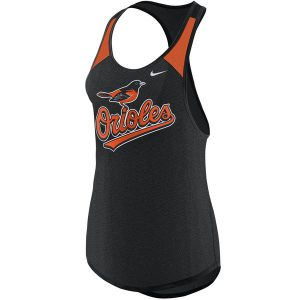 Baltimore Orioles Nike Women's Legend Wordmark 1.7 Performance Tank Top
