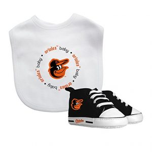 Baby Fanatic Bib with Pre-walker, Baltimore Orioles