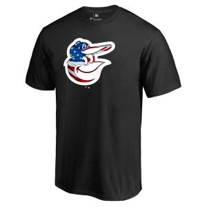 Baltimore Orioles Fanatics Branded Banner Wave T-Shirt – Black