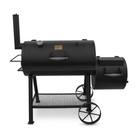 Grills are now on sale! Oklahoma Joe's Highland 879-sq in Black Charcoal Horizontal Smoker