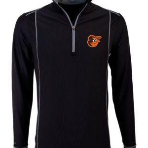 Men's Antigua Baltimore Orioles MLB Tempo Quarter-Zip Jacket