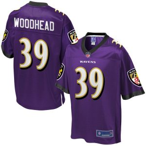 Danny Woodhead Baltimore Ravens NFL Pro Line Player Jersey – Purple