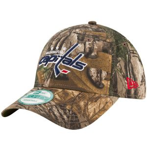 Men's Washington Capitals New Era Realtree® Camo The League 9FORTY Adjustable Hat