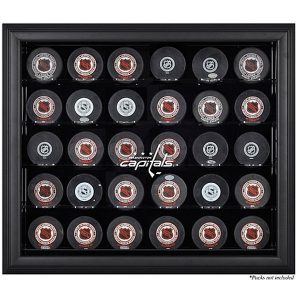 Washington Capitals Fanatics Authentic 30-Puck Black Display Case