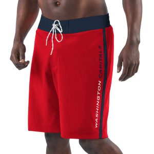 Washington Capitals G-III Sports by Carl Banks Endurance Swim Trunks