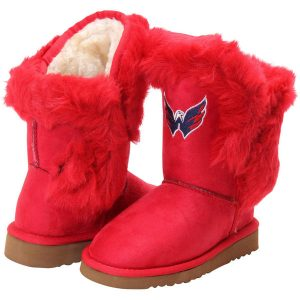Washington Capitals Girls Youth Mini Champions Boots